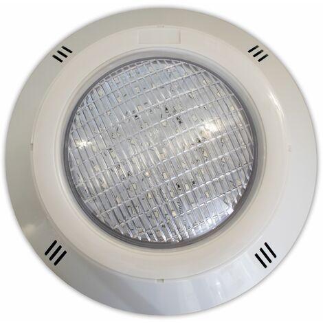 Pack 2 Focos LED RGB ON/OFF 18W 12V AC Gama Basic de superficie para piscina con Transformador