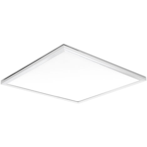Pack 2 Panel LED 60X60cm 42W 4200Lm UGR 19 Marco Blanco
