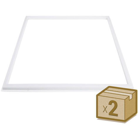 Pack 2 Paneles FRAMELUX 42W, LIFUD driver, 60x60 cm