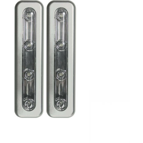 Pack 2 Pulsadores Luminosos LED de Noche Rectangular 7hSevenOn Elec