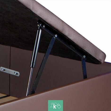 Pack 2 sistemas de elevación completos con amortiguadorespara canapé abatible