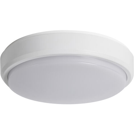 PACK 2 X PLAFONES LED BAÑO 8W 4000K 800LM IP44 BLANCO