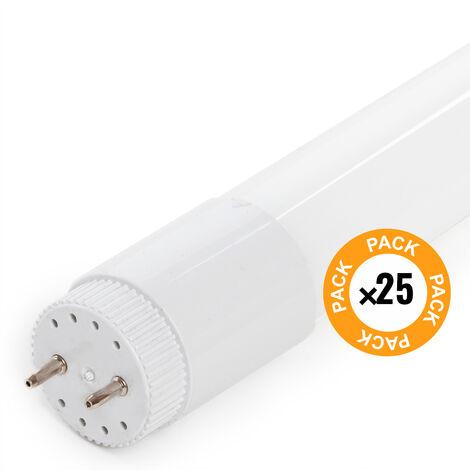 Pack 25 Tubo LED Cristal T8 120Cm 18W 1800Lm | Blanco Frío (LM-LM1063-CW)