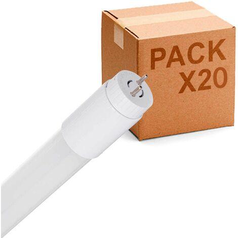 Pack 25uds Tubo LED T-8 9W 600mm cristal
