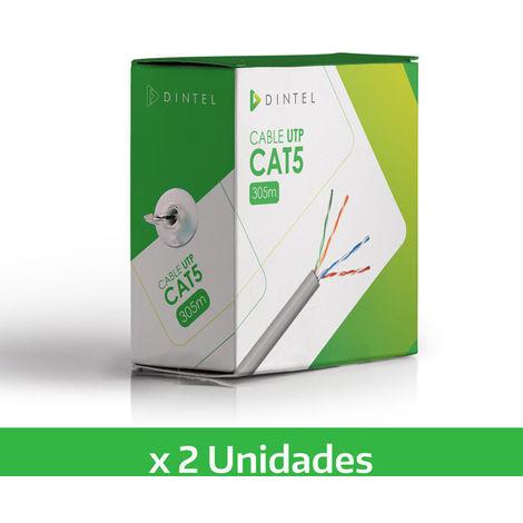 Pack 2x Cable de UTP 305m CAT5 Especial CCTV Dintel