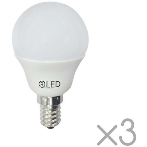 Pack 3 bombillas LED cálidas E14 (5.2W)