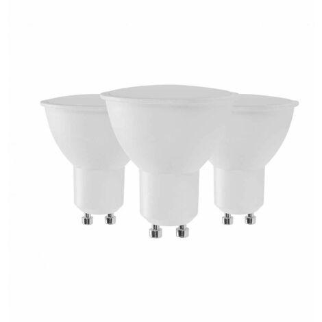Pack 3 Bombillas LED GU10 Spotlight 6W Equi.50W 540lm Luz Fría Raydan Home