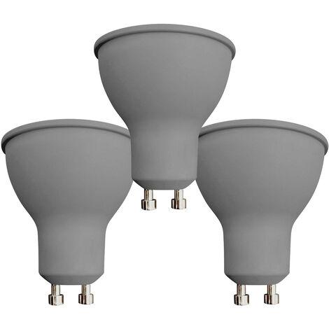 Pack 3 Bombillas LED Spotlight GU10 7,4W Equi.50W 540lm 15000H