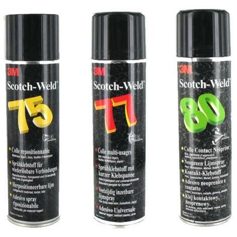 Pack 3 Colles en aérosol 3M Scotch Weld