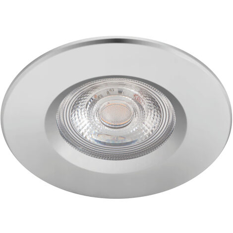 "Pack 3 Downlight LED Philips ""Dive"" Circular 5,5W 410Lm Cromado 2700K IP65 [PH-929002527122] (PH-929002527122)"