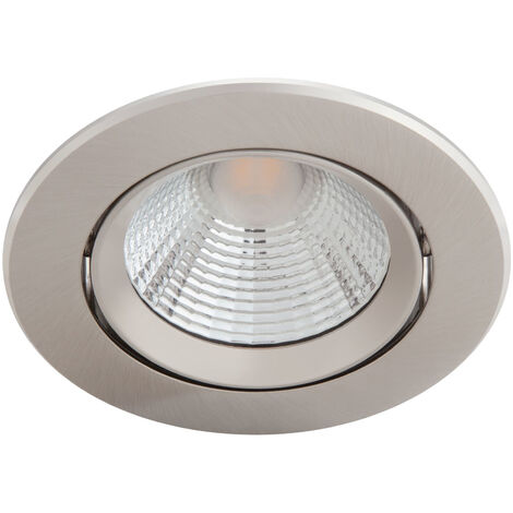 "Pack 3 Downlight LED Philips ""Sparkle"" Circular 5,5W 350Lm Niquelado 2700K [PH-929002374322] (PH-929002374322)"
