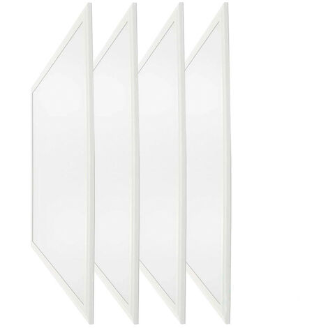 Pack 4 Paneles LED Ultraslim Cuadrados 48W 4000lm 600x600mm 4000K 7hSevenOn