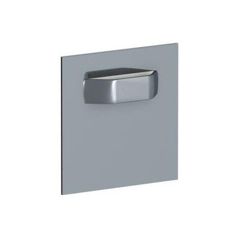Pack 4 plaques adhésives pour dibond 4,5x4,5cm - 1kg