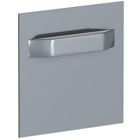 Pack 4 plaques adhésives pour dibond et tableau - 7x7cm 2 kg