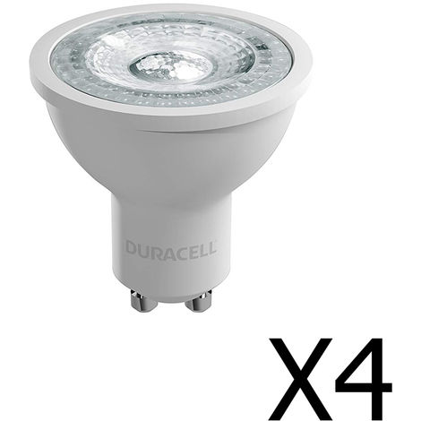 Pack 4 spots Duracell LED 35W GU10
