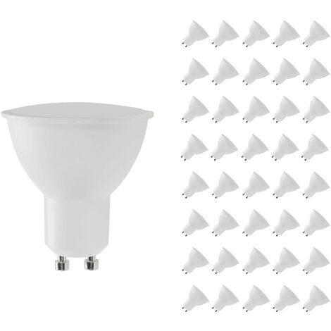Pack 40 Bombillas LED GU10 Spotlight 8W Equi.60W 700lm Raydan Home