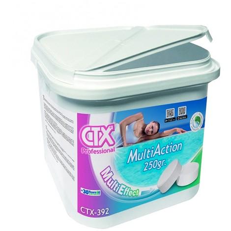 Pack 4x Cloro multiacción en tabletas 250g CTX-393 5kg - Cod: 34426