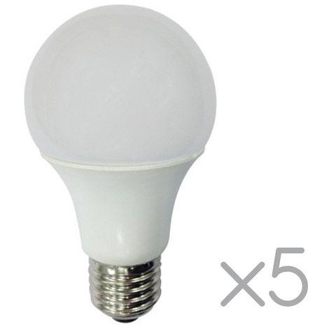 "main image of ""Pack 5 Bombillas LED E27 estándar 10W (Luz cálida)"""