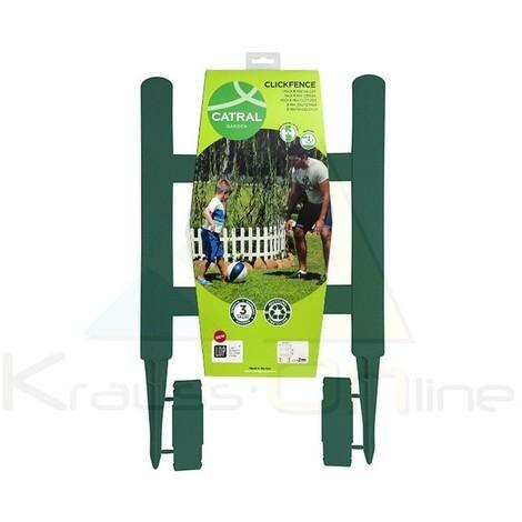 Pack 5 Mini Vallas Clickfence Lop 40x40cm Verde
