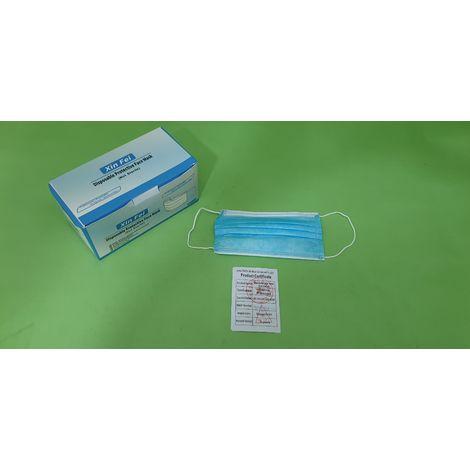Pack 50 mascarillas quirúrgica
