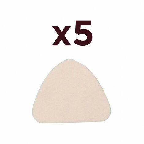 Pack 5x Masque filtrant 3 panneaux avec valve FFP3 supérieur FFP2 Anti-pollution