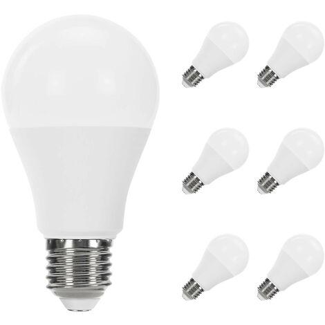 Pack 6 Bombillas LED Estándar E27 11W Equi.75W 1055lm Raydan Home