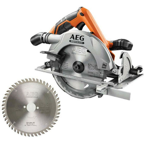 Pack AEG scie circulaire brushless 18 V 190mm Li-ion BKS18BL-0 - Lame scie circulaire 2.8x190mm