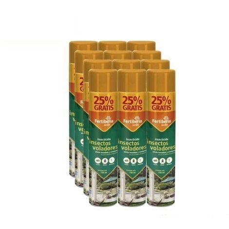 Pack Ahorro Insecticida Insectos Voladores FERTIBERIA 600 + 150 ml GRATIS (12x)