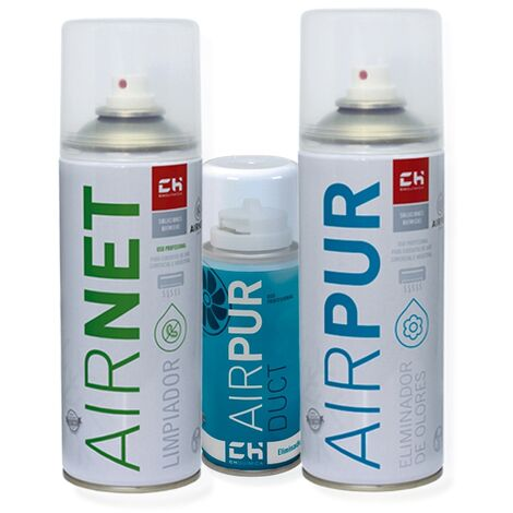 Pack AIRNET + AIRPUR + AIRPUR duct spray 400 ml