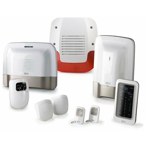 Pack alarme et vidéo TYXAL+ sans fil - Suivi SMS et détecteur vidéo - Delta Dore