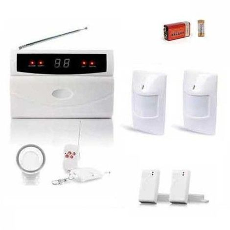 Pack Alarme Pour Appartement, Kit Serenityx2