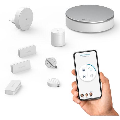 Pack alarme sans fil + accessoires Somfy 2401497 Somfy Home Alarm 200 m S621831
