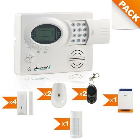 Pack alarme sans fil Atlantic's Kit 12