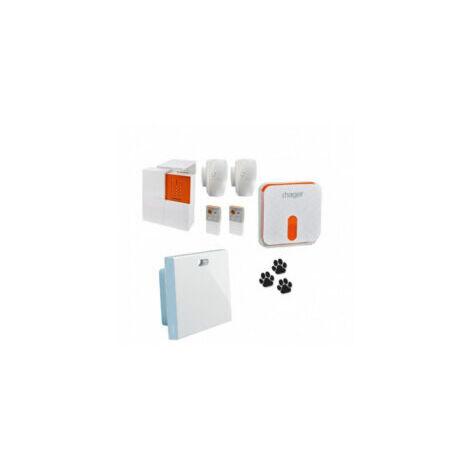 Pack Alarme Sepio Connecté + sirène + contrôleur Coviva - RLP306F - Hager