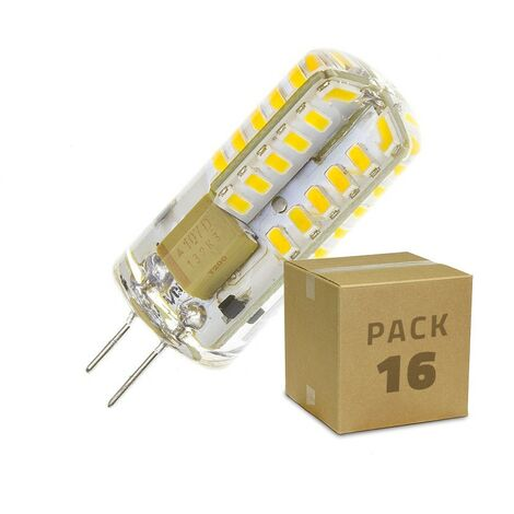 PACK Ampoule LED G4 3W (220V) (16 Un)