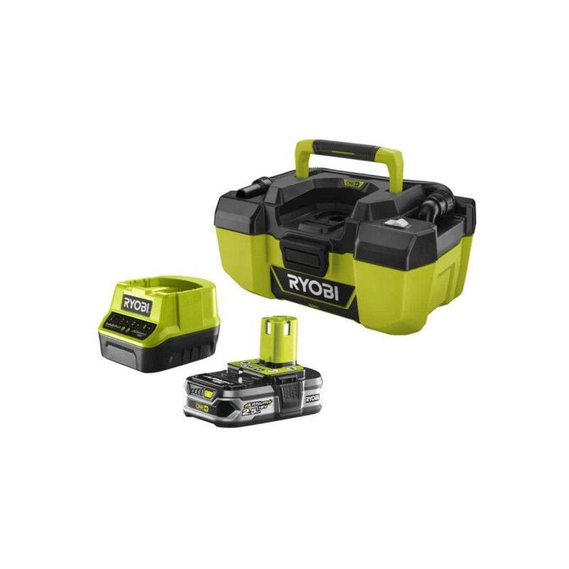 Pack aspirateur d'atelier RYOBI 18V One Plus R18PV 0 1