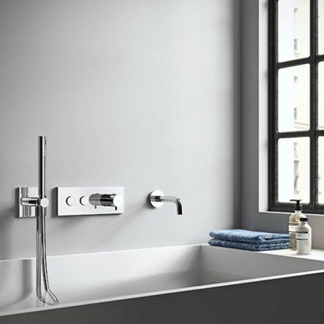 Pack bain douche encastrée thermostatique THERMO UP - TRIVERDE- CRISTINA ONDYNA XTV48451