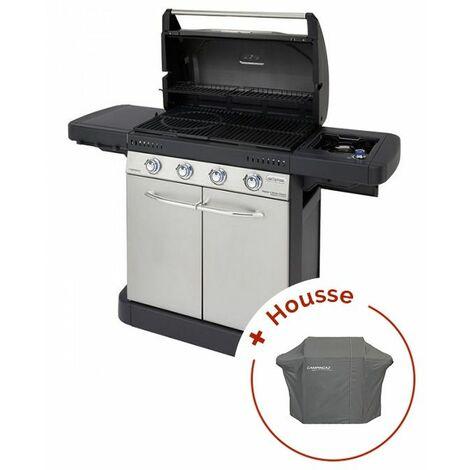 Pack Barbecue à gaz Campingaz Master 4 Series Classic + housse