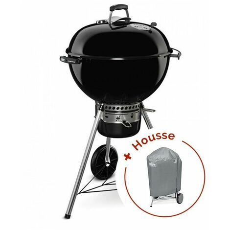 Pack Barbecue Weber Master-Touch GBS Ø 57 cm Noir + housse