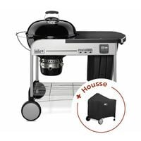 Pack Barbecue Weber Performer Premium GBS + housse