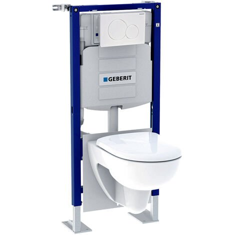 Pack bâti-support RENOVA Geberit Duofix 112 cm avec plaque et WC