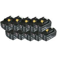 Pack batteries 18V 5Ah Makita avec témoin de charge BL1850B- plusieurs modèles disponibles