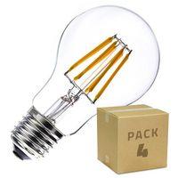 Pack Bombilla LED E27 Regulable Filamento Classic A60 6W (4x2.39)