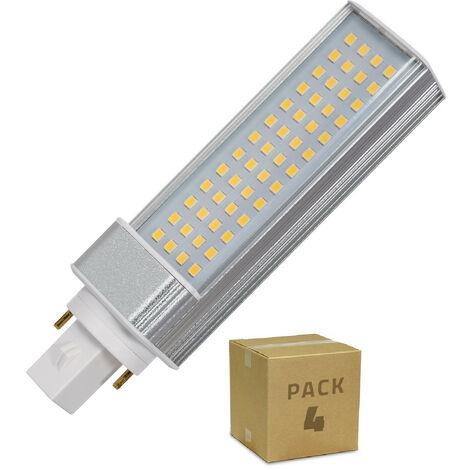 Pack Bombilla LED G24 12W (4 un)
