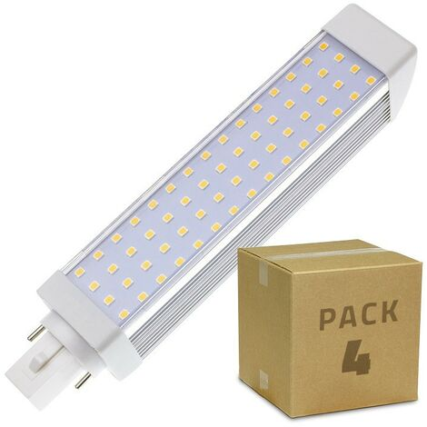"main image of ""Pack Bombilla LED G24 12W (4 un)"""