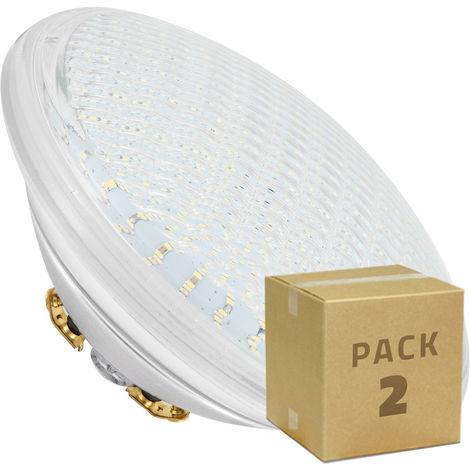 Pack Bombilla LED Sumergible PAR56 RGB 18W (2 Un) RGB