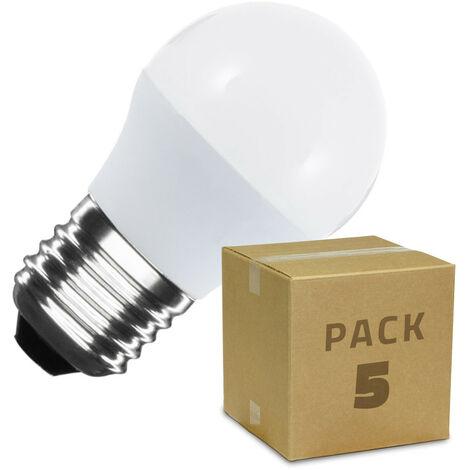 """main image of """"Pack Bombillas LED E27 G45 5W (5 un)"""""""