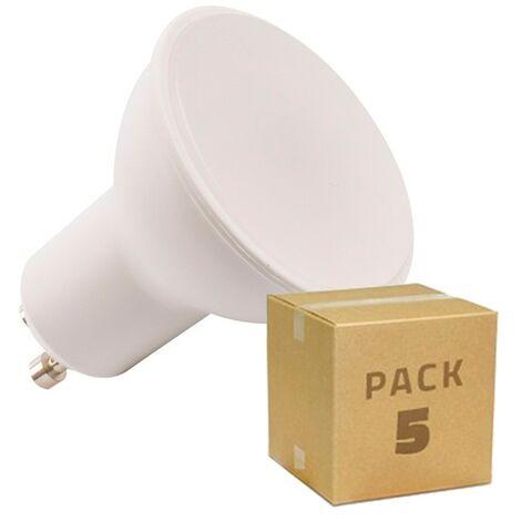 Pack Bombillas LED GU10 S11 120º 6W (equivalente a Halógeno 50W) (5 un)