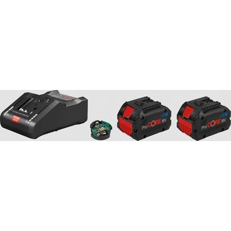 Pack BOSCH 2 batteries ProCore 18V 8.0 Ah + Chargeur GAL18V-160C - 1600A016GP