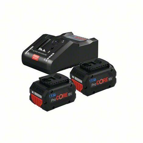 Pack BOSCH 2 batteries ProCore 18V 8.0 Ah + Chargeur GAL18V-160C - 1600A016GP